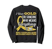 Means Everything Embryonal Rhabdomyosarcoma Shirts Sweatshirt Black