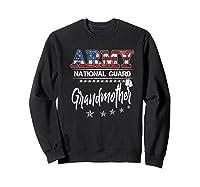 Army National Guard Grandmother Of Hero Military Family Shirts Sweatshirt Black