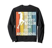 The Greatest Baller In Ohio Basketball Player T-shirt Sweatshirt Black
