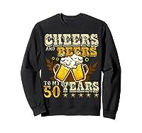 Funny Beer Drinking 1969 T Shirt 50th Birthday Gifts Sweatshirt Black
