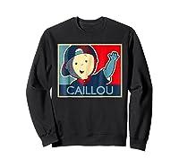 Caillou T Shirt Sweatshirt Black