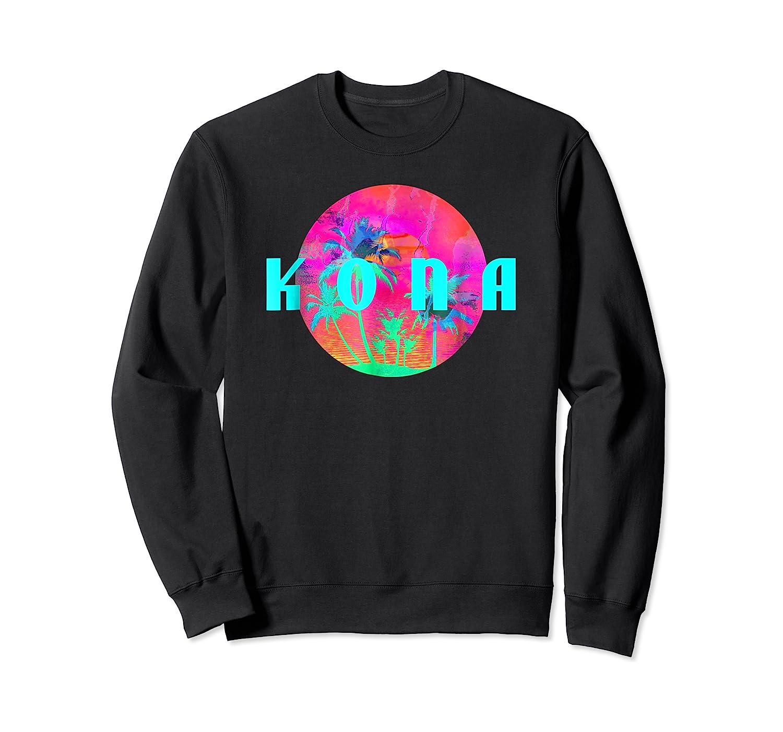 Kona Beach Palm Beach Travel Surf Shirts Crewneck Sweater