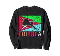 Eritrea Map Eritrean Shirts Sweatshirt Black