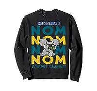We Bare Bears Nom Nom Everyone's Tube Internet Celebrity Shirts Sweatshirt Black