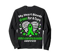 For A Cure Primary Sclerosing Cholangitis Awareness Shirts Sweatshirt Black