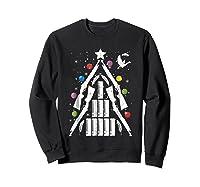 Shotgun Christmas Tree For Duck Hunters Shirts Sweatshirt Black