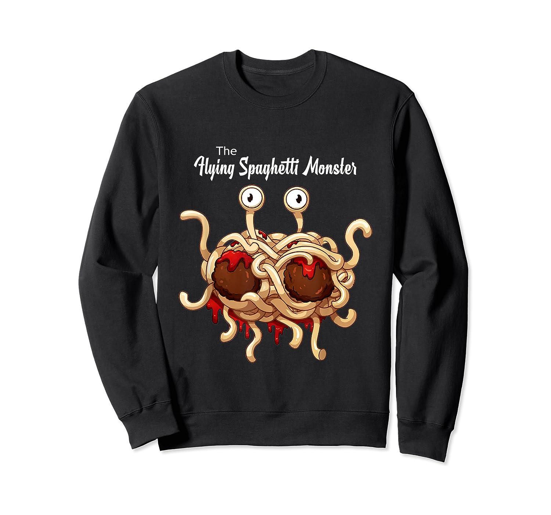 Flying Spaghetti Monster Pastafarian Vintage Shirts Crewneck Sweater