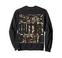Straight Outta Army Veteran American Military Pride Gift Shirts Sweatshirt Black