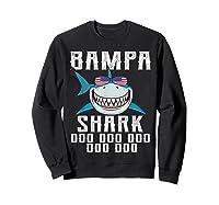 Bampa Shark Doo Doo Shirt - Matching Family Shark Shirts Sweatshirt Black