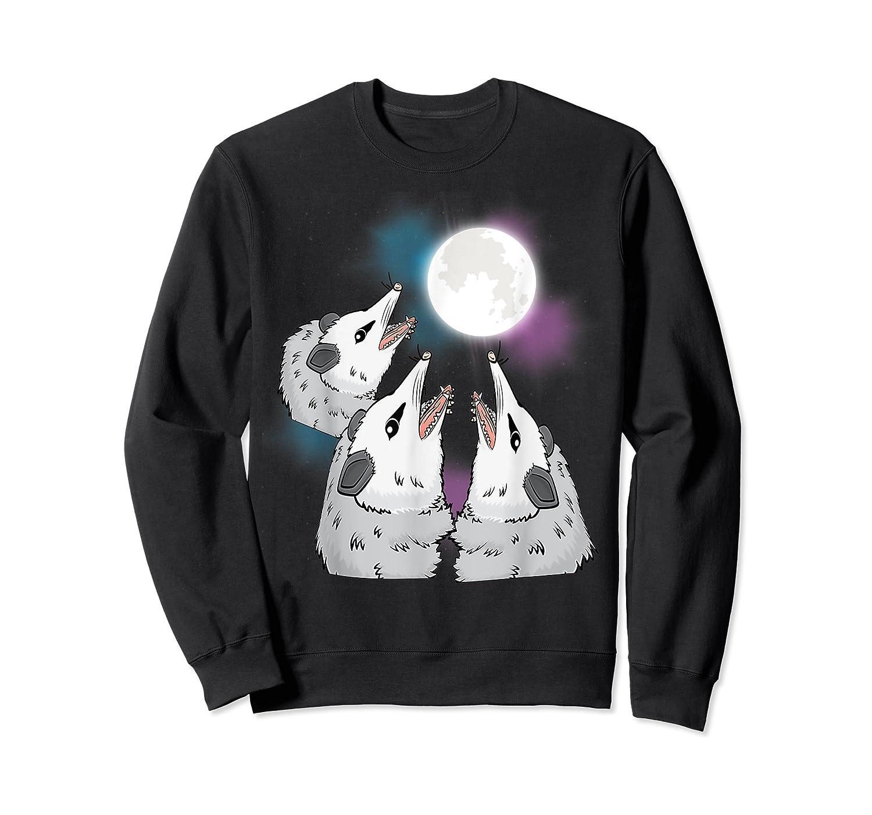 Three Opossum Moon S Shirts Crewneck Sweater