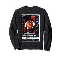 Cabinet Of Dr Caligari Halloween Horror Shirts Sweatshirt Black