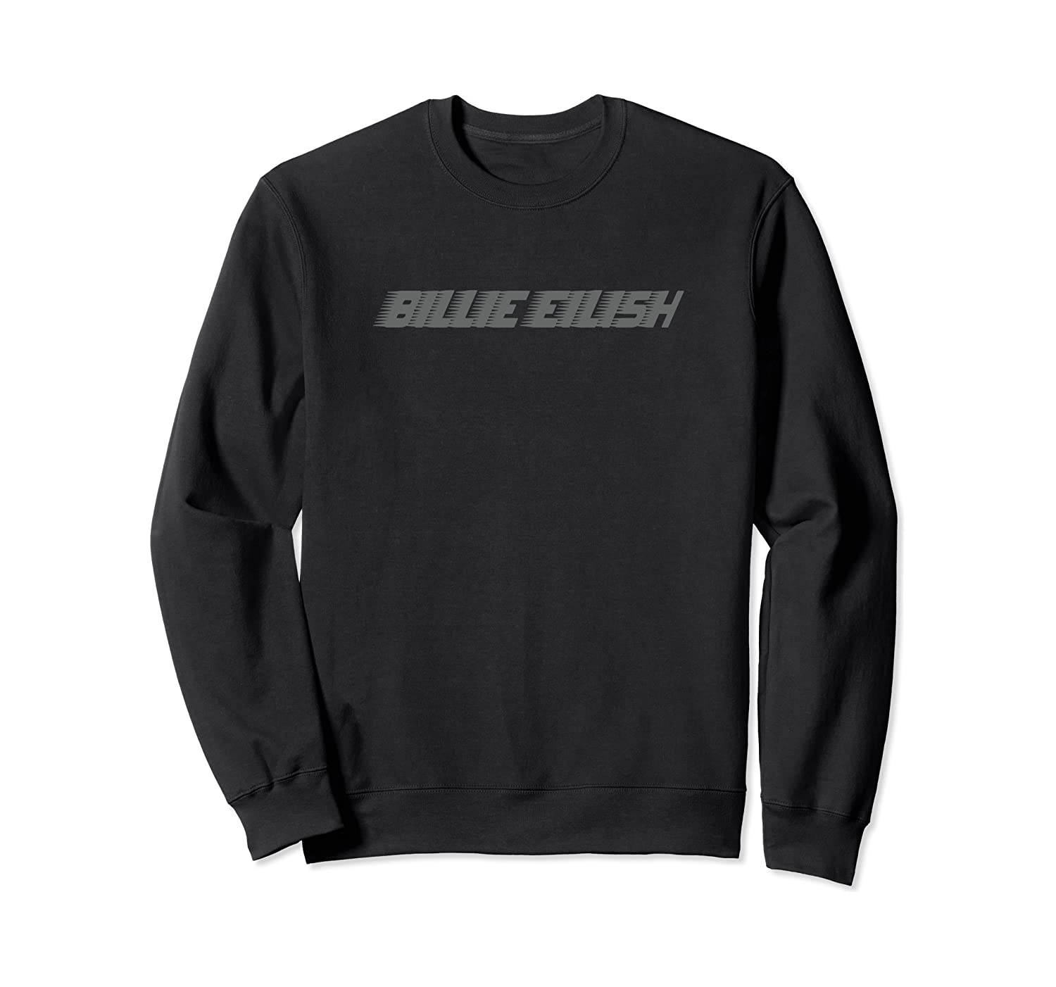 Billie Eilish Official Grey Billie Logo Sweatshirt