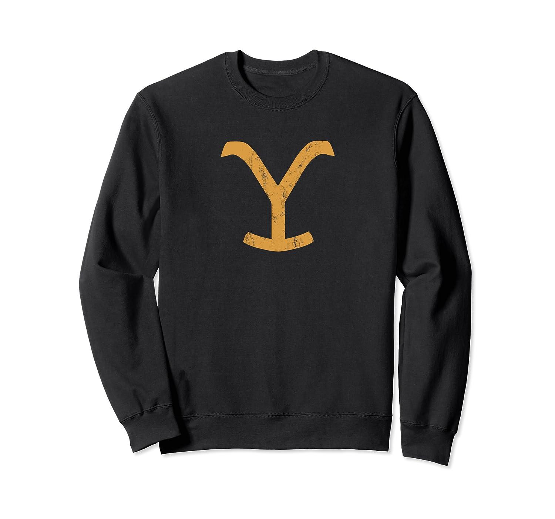 Vintage Yellowstone National Park Faded /& Distressed Sweatshirt