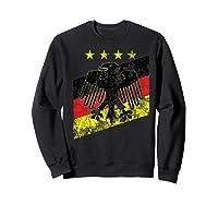 Germany Soccer Style Deutschland 1990 Shirts Sweatshirt Black