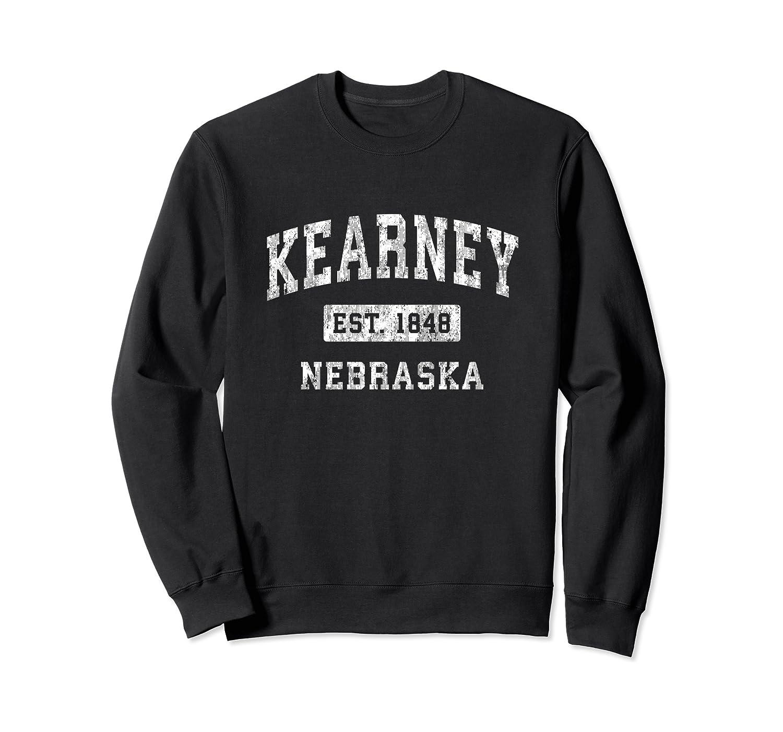 Kearney Nebraska NE Vintage Established Sports Design Sweatshirt