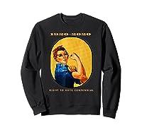 Right To Vote Centennial Xix 19th Adt Gift Shirts Sweatshirt Black