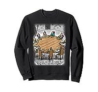 King Arthur & His Knights Of The Round Table, T-shirt Sweatshirt Black