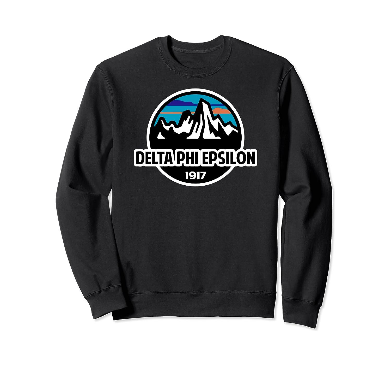 DPhiE Mountains and Sky Logo Sweatshirt