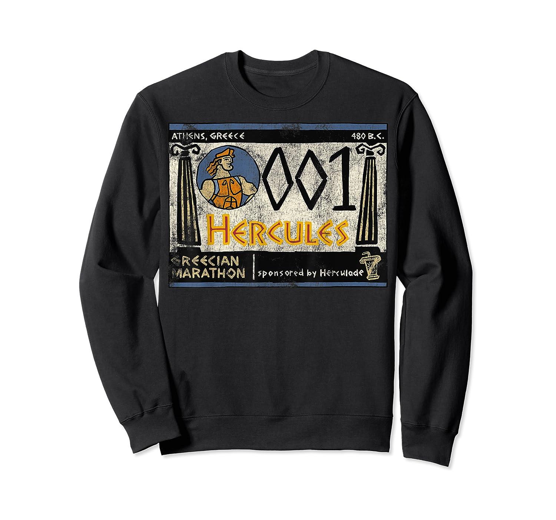 Disney Hercules Grecian Marathon Poster T-shirt Crewneck Sweater