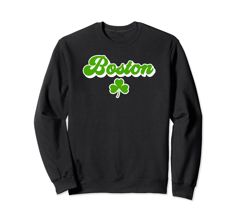 Vintage Boston Massachusetts (MA) Shamrock Beantown Sweatshirt