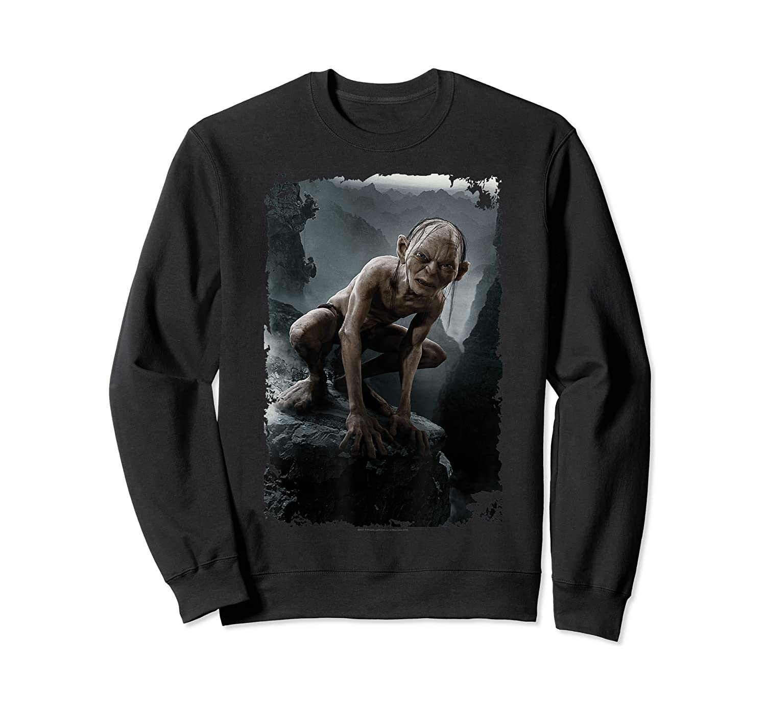 The Lord Of The Rings Gollum T-shirt Crewneck Sweater