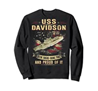 Davidson Ff 1045 Shirts Sweatshirt Black