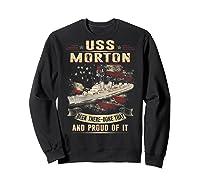 Uss Morton (dd-948) T-shirt Sweatshirt Black