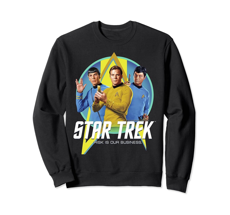 Star Trek Original Series Risk Is Business Sweatshirt