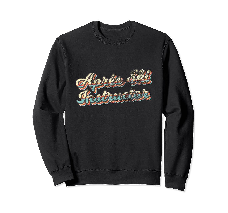 Apres Ski Instructor 70s 80s Ski T-shirt - Apre Ski