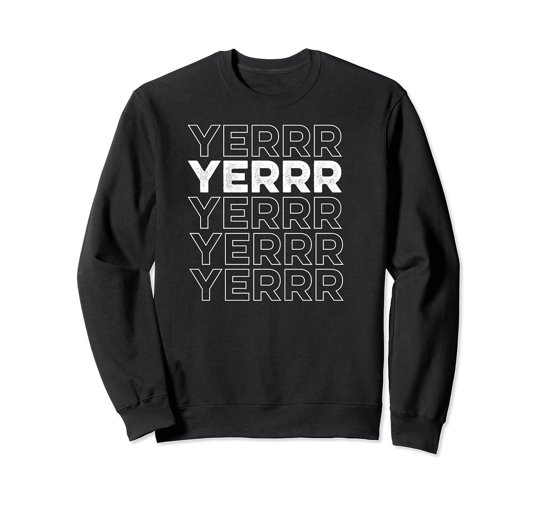 Yerrr New York Pullover Shirts Crewneck Sweater