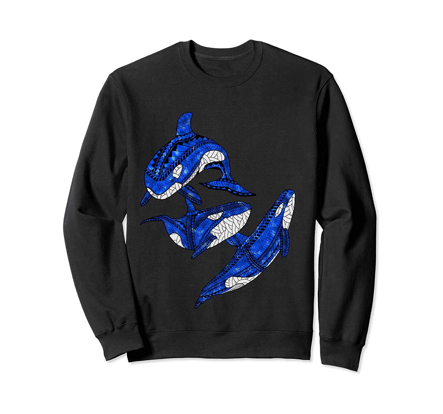 Pod Of Orca Whales T-shirt Crewneck Sweater