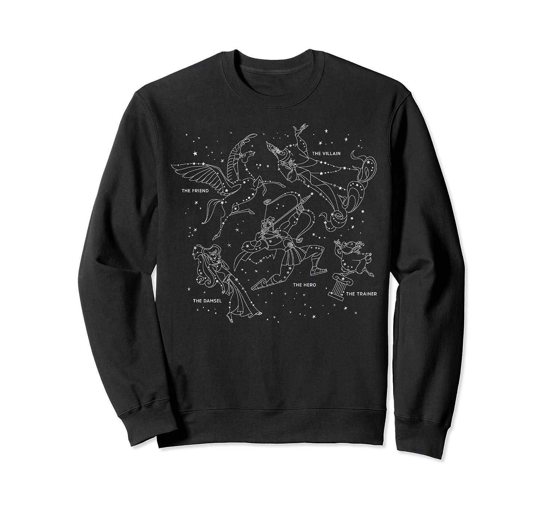 Disney Hercules Constellation Poster Sweatshirt