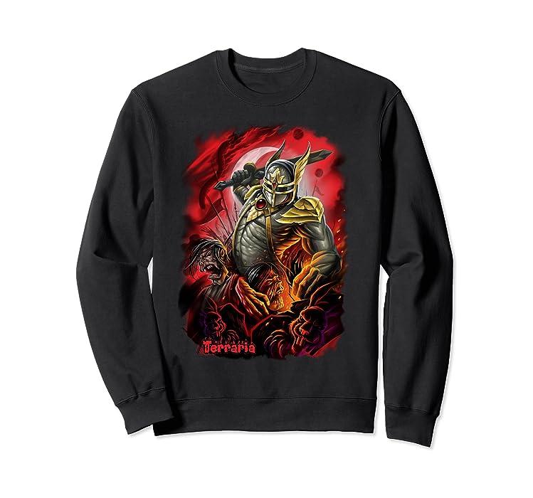 Amazon com: Terraria Sweatshirt: Blood Moon: Clothing