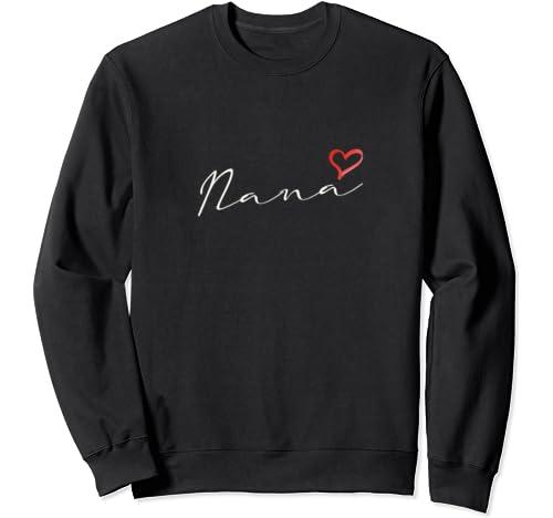 Nana, Grandma Christmas Birthday & Mother's Day Gift Sweatshirt