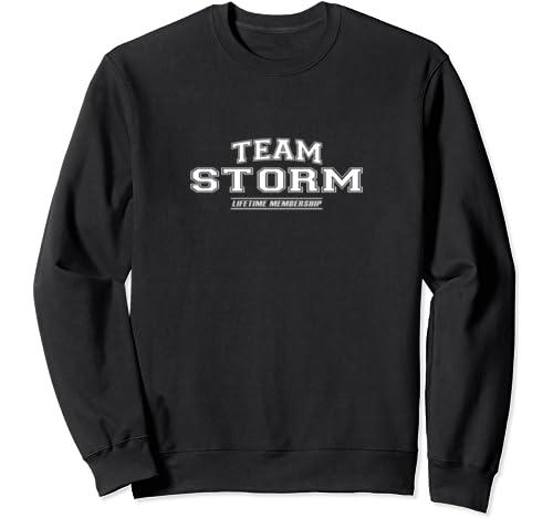Team Storm | Proud Family Surname, Last Name Gift Sweatshirt