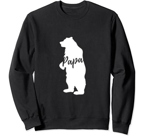 Papa Bear   Dad   Father's Day Series Sweatshirt