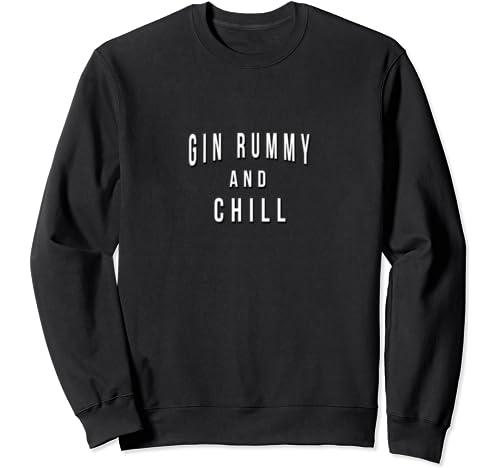 Funny Gin Rummy Sweatshirt
