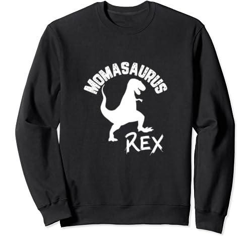 Momasaurus Rex Cute Dinosaur Funny Mother's Mom Gift Sweatshirt
