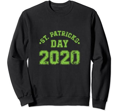 Saint Patrick's Day 2020 Retro Design Party Costume Outfit Sweatshirt