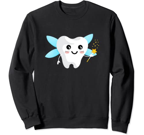 Tooth Fairy Gift Halloween Costume Tooth Sweatshirt