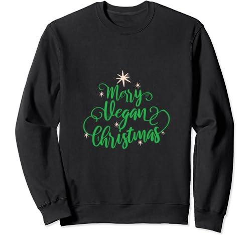 Merry Vegan Christmas   Christmas   Gift For Vegans Sweatshirt
