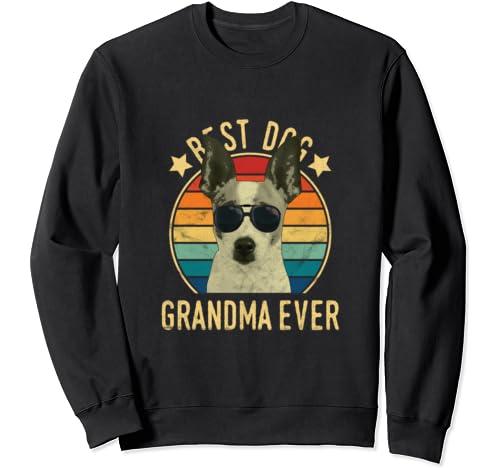 Best Dog Grandma Ever Rat Terrier Mother's Day Sweatshirt
