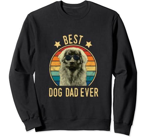 Best Dog Dad Ever Leonberger Father's Day Gift Sweatshirt