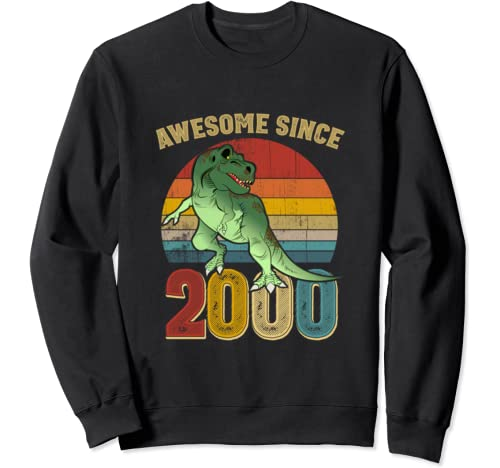 Awesome Since 2000 Mens Womens Vintage 20th Birthday Gifts Sweatshirt