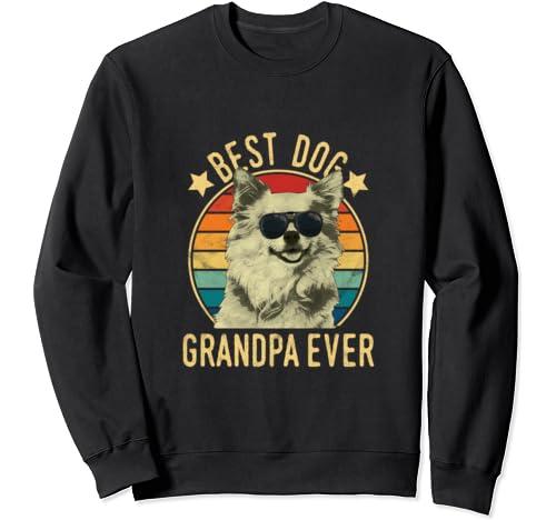 Best Dog Grandpa Ever Chihuahua Father's Day Sweatshirt