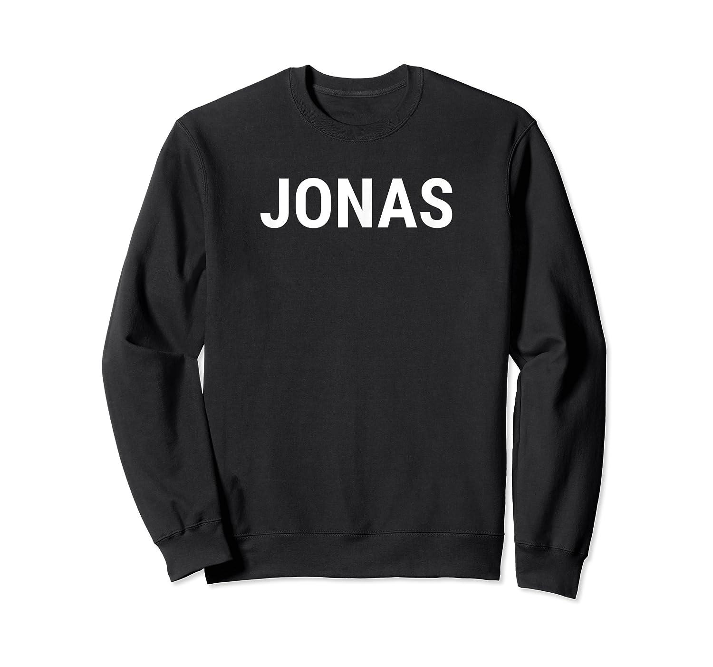 Jonas First Given Name Pride T Shirt Crewneck Sweater