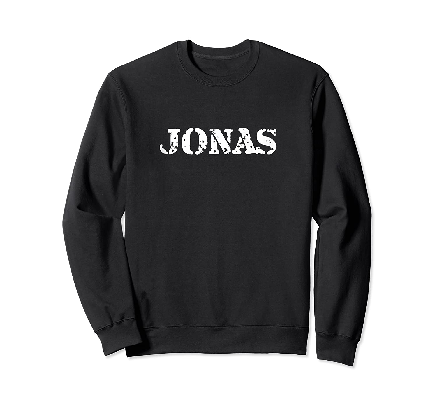 Jonas First Given Name Pride Distressed Gift Tank Top Shirts Crewneck Sweater