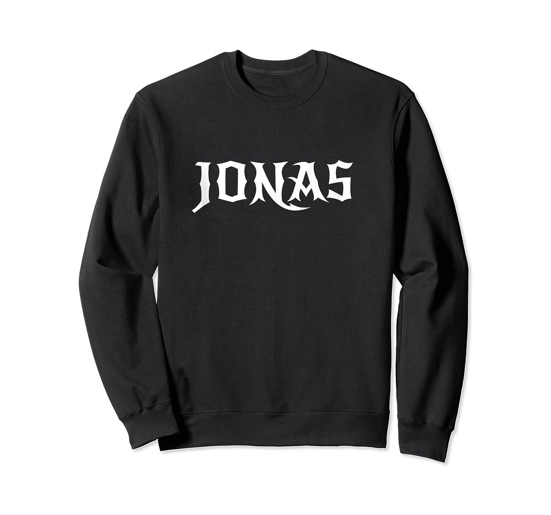Jonas First Given Name Pride Gift Tank Top Shirts Crewneck Sweater