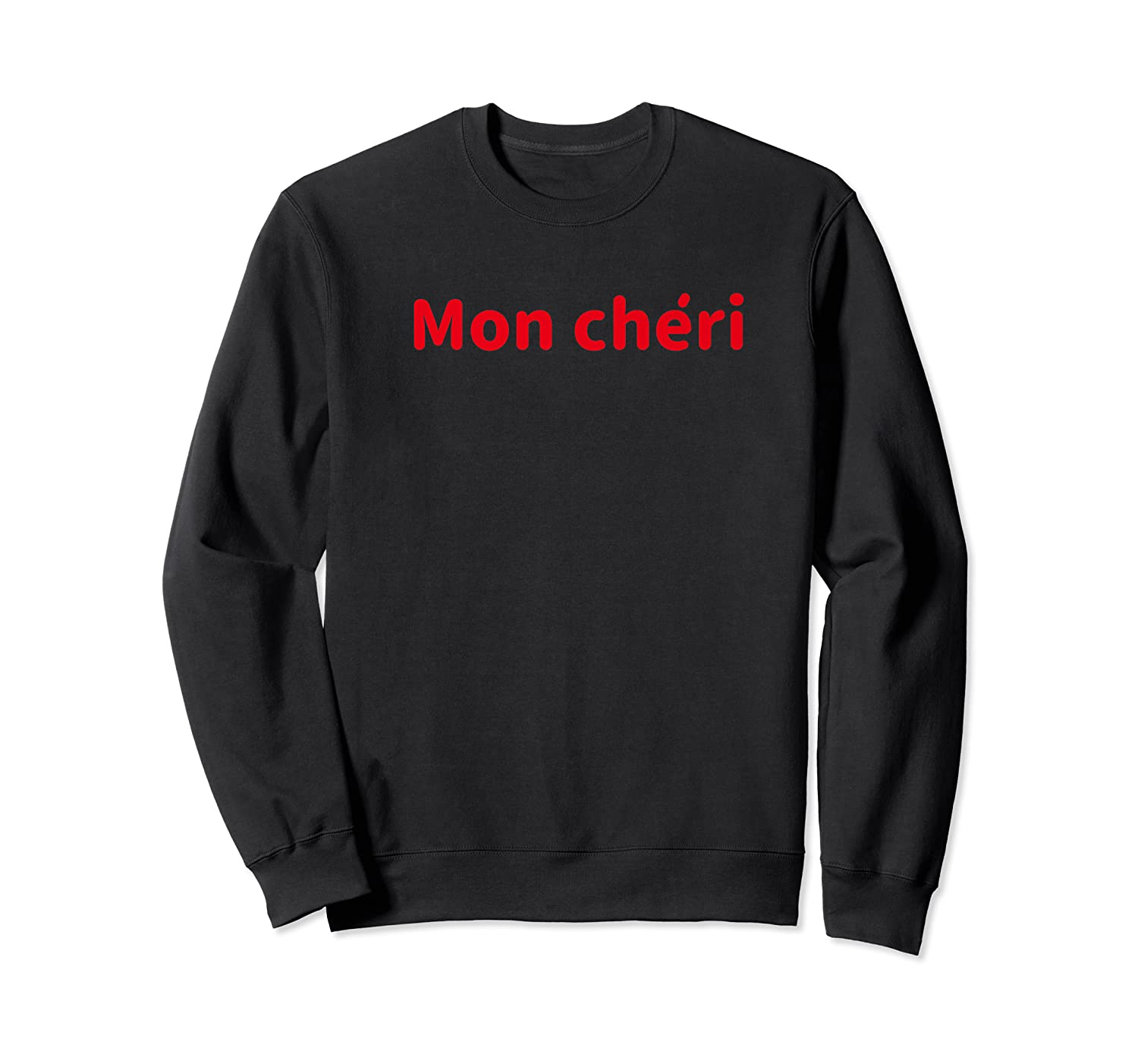 Mon I My Darling Honey In French Shirts Crewneck Sweater