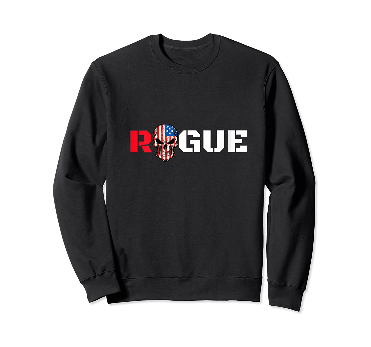 Rogue Life Armed Forces Military Gaming Gym Bad Boy Tee Army T-shirt Crewneck Sweater